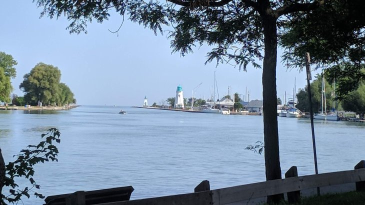 Port Dalhousie harbour
